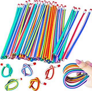 40 Pieces Flexible Soft Pencil,Soft Pencils with Eraser,Magic Bend Pencils for Kids Students Gift,School Supplies