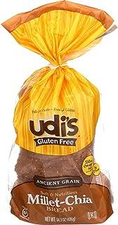 Udis Bread Gluten Free Grain Ancient Mile, 14.2 oz