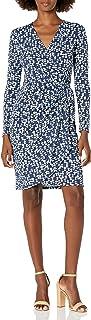 Lark & Ro Amazon Brand Women's Classic Long Sleeve Wrap Dress