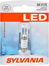 SYLVANIA - DE3175 31mm Festoon LED White Mini Bulb - Bright LED Bulb, Ideal for Interior Lighting - Map, Dome, Cargo and License Plate (Contains 1 Bulb)