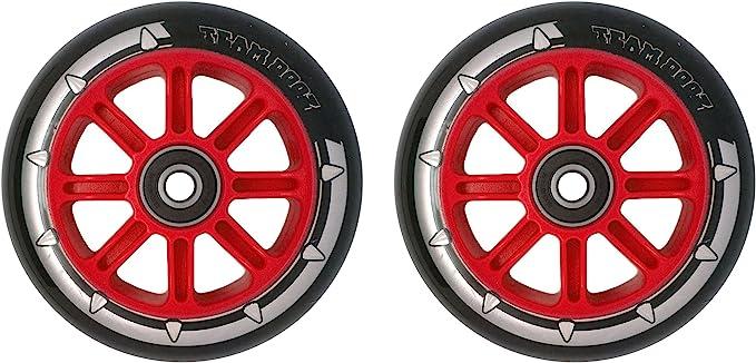 Par de ruedas para patinete Team Dogz, núcleo de nailon 100 ...