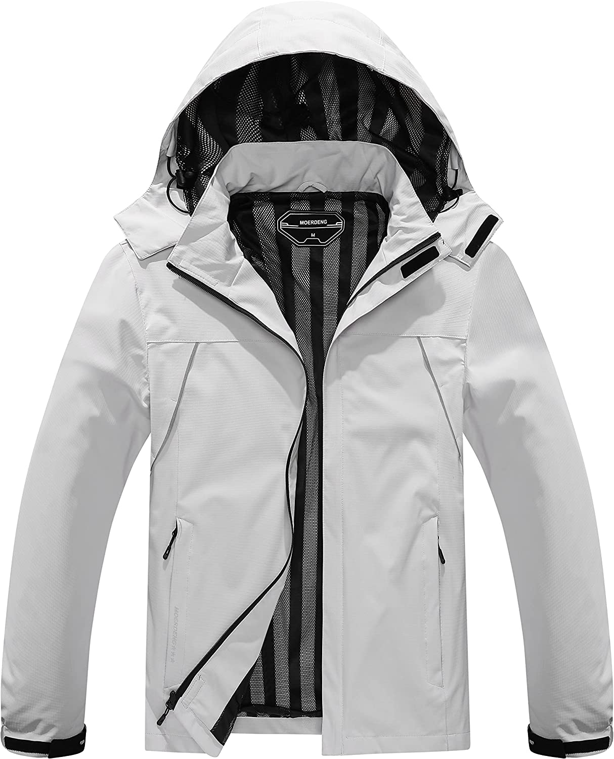 Men's Lightweight Rain Jacket Max 61% OFF Waterproof Breathable Out Coat Very popular! and
