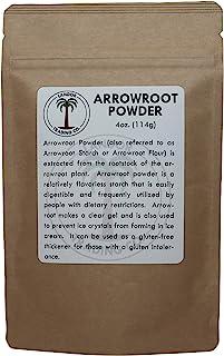 Arrowroot Powder 4 Ounces (1/4 Pound)
