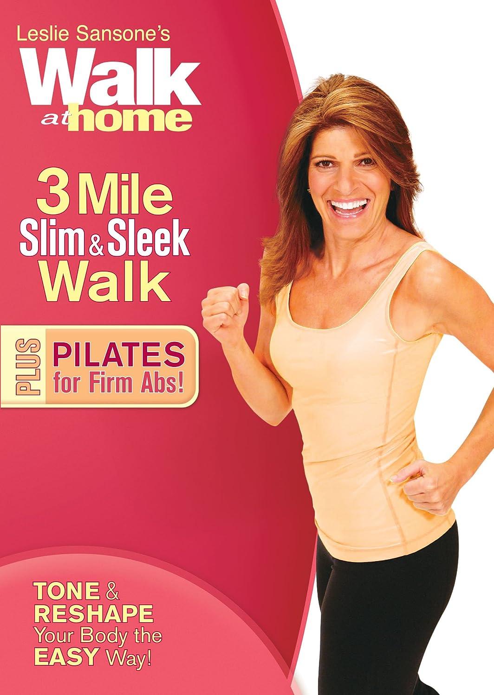 Leslie Sansone: Walk at Minneapolis Mall Home - Milwaukee Mall Pil 3 Plus Slim Sleek Mile
