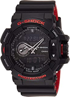 Casio Mens Quartz Watch, Analog-Digital Display and Resin Strap GA-400HR-1ADR