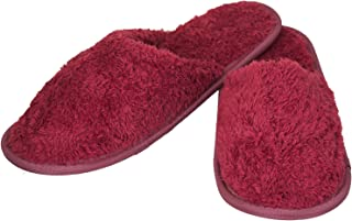 Unisex Maroon House Slippers - Standard ( Free Size)