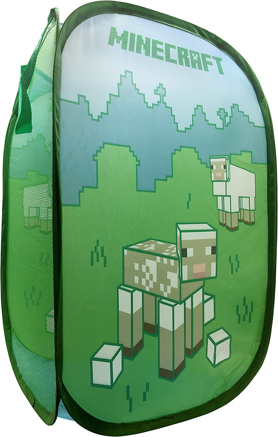 Minecraft Shorn Sheep Pop Up Hamper Basket Laundry Mesh Max 50% OFF wi - It is very popular Bag