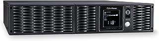 CyberPower PR3000LCDRTXL2U Smart App Sinewave UPS System, 3000VA/3000W, 8 Outlets, AVR, 2U Rack/Tower