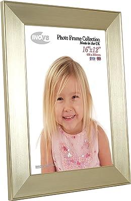 16 x 12-Inch Inov8 Framing Photo Frame Twin Edge Silver 16x12 1PK