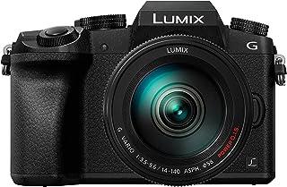 Panasonic Lumix DMC-G7H + G Vario - Cámara Digital de 16 MP (Pantalla táctil de 3 Auto-Enfoque Zoom de 16x Wi-Fi HDMI) Negro y Kit con Lente G Vario 14-140 mm (versión importada)