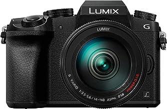 Panasonic Lumix DMC-G7H + G Vario - Cámara Digital de 16 MP (Pantalla táctil de 3