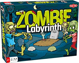 Tactic Games US Zombie Labyrinth (Multi) Board Game (4 Player)