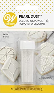 Wilton 703-1355 White Pearl Dust 0.05 Ounce (1.4 Grams)