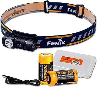 Fenix HM50R 500 Lumens Multi-Purpose Compact LED Headlamp Flashlight, Rechargeable Battery Plus Additional Rechargeable Ba...