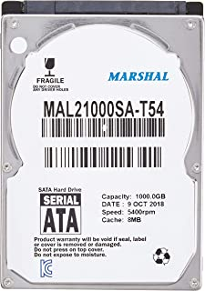 【1TB】MARSHAL 2.5インチ HDD 5400rpm 1TB 8MB SATA MAL21000SA-T54
