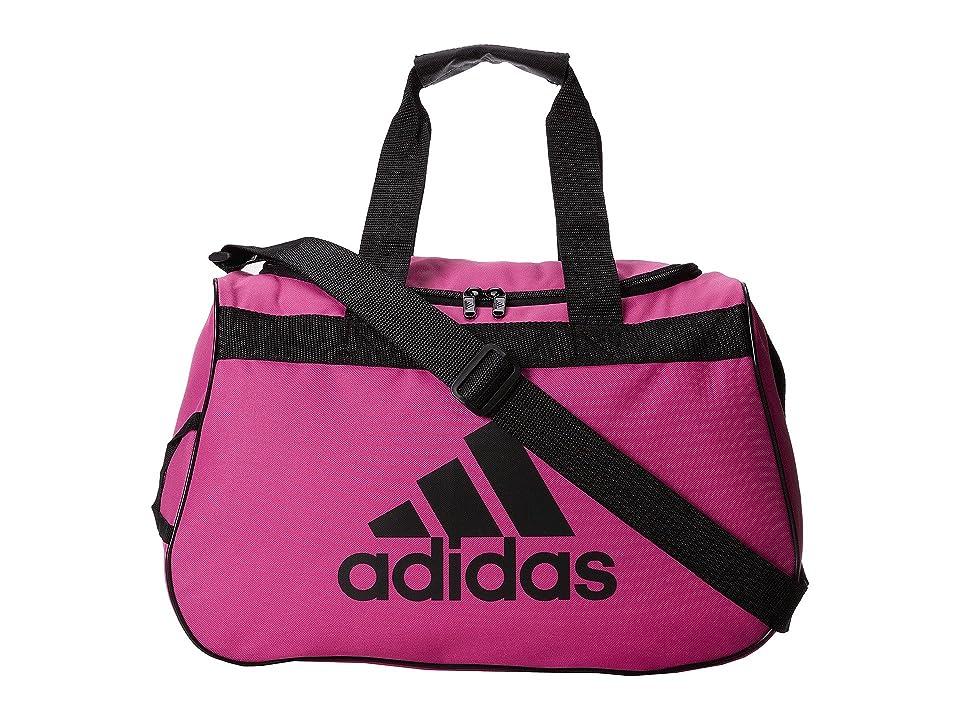 adidas Diablo Small Duffel (Intense Pink/Black) Duffel Bags