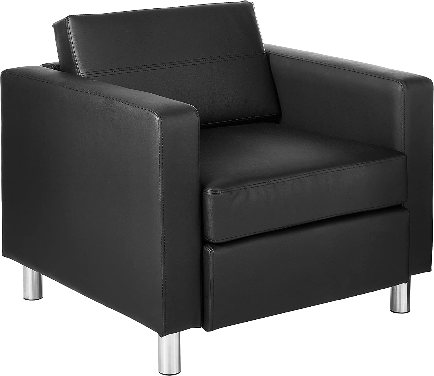OSP Home trust Furnishings Max 78% OFF Pacific Arm Chair Black