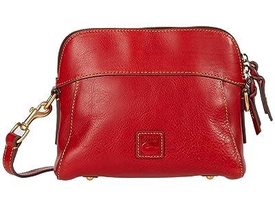 Dooney & Bourke Florentine Classic Cameron Crossbody (Red) Cross Body Handbags