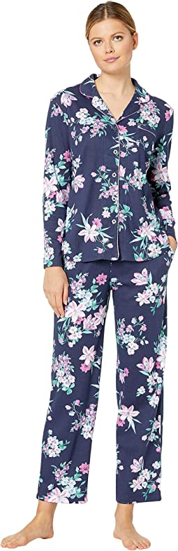 Midnight Floral Navy Blazer