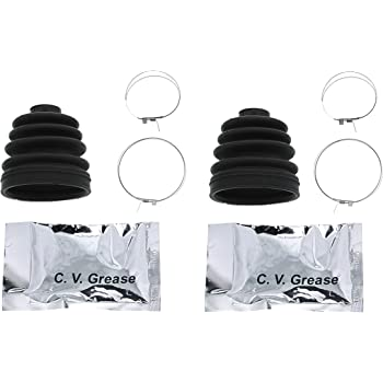 Complete Rear Inner /& Outer CV Boot Repair Kit Polaris Sportsman XP 850 EPS 2012