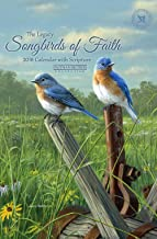 Legacy Publishing Group 2018 12-Month Calendar Sheets with Clipboard, Songbirds of Faith