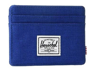 Herschel Supply Co. Charlie RFID (Monaco Blue Crosshatch) Wallet Handbags