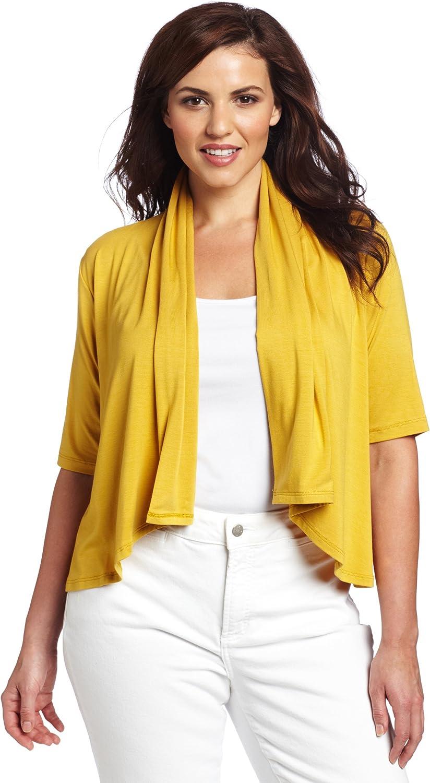 Karen Kane Women's Plus-Size Easy Drape Cardigan