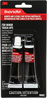 Bondo Bumper and Flexible Part Repair, For Minor Touch-Ups, Use to Repair and Condition Flexible Parts and Bumpers with Professional looking results, 2 Tubes