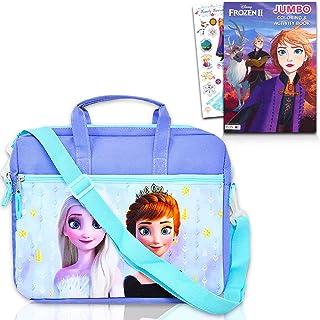 Frozen Tablet Case Frozen Travel Bag Bundle ~ Frozen Messenger Bag With Frozen Coloring Book and Stickers (Frozen Sling Ba...