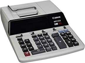 "$84 » Canon CNMMP21DX Color Printing Calculator, AC Supply Powered, 3.7"" x 9"" x 12.2"", White, 1 Each"