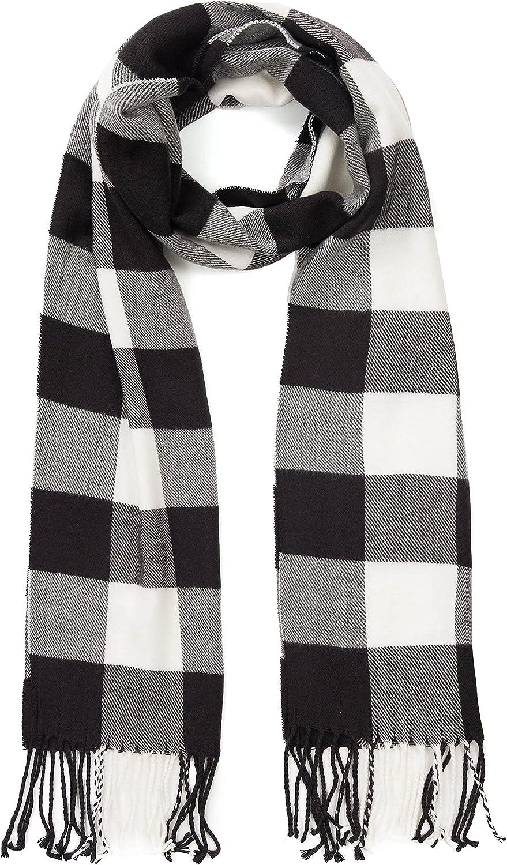 TAMOUKOC Women Winter Scarf Cashmere Feel - Gift for Men