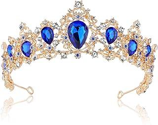 Kinder Mädchen Perle Kristall Haarband Bogenknoten Rhinestone-Stirnband Tiara