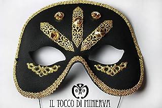 Maschera swarovski filigrana Lucy - Realizzati a Mano - Made in Italy-HandaMade-Regali ragazza-Prodotto Artigianale-idee r...