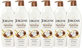 Jergens Hydrating Coconut Dry Skin Moisturizer, 26.5 Ounces (Pack of 6) (Packaging May Vary)