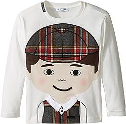 Back to School Bimbo Moro T-Shirt (Toddler/Little Kids)