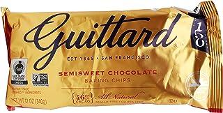 Guittard Baking Chips, Semi Sweet Chocolate, 12 oz