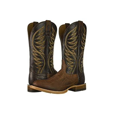 Ariat Slick Fork (Tobacco Toffee/Gunfire Gray) Cowboy Boots