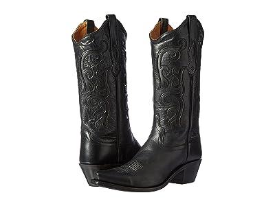 Old West Boots LF1579 (Black) Cowboy Boots
