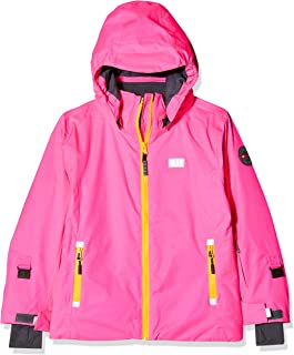 LEGO Wear Girls Jacket With Adjustable Cuffs and Mobile Phone Pocket, Dark Pink, 9 Yr