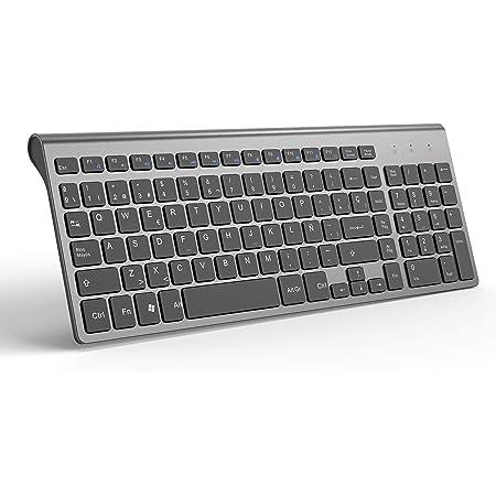 Teclado Inalámbrico Español, JOYACCESS Teclado PC QWERTY Compacto y Ergonómico con Teclado Numérico, teclados para PC, Laptop, Mac y Smart TV, ...