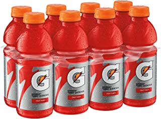 Gatorade Thirst Quencher, Fruit Punch, 20 Ounce (Pack of 8)