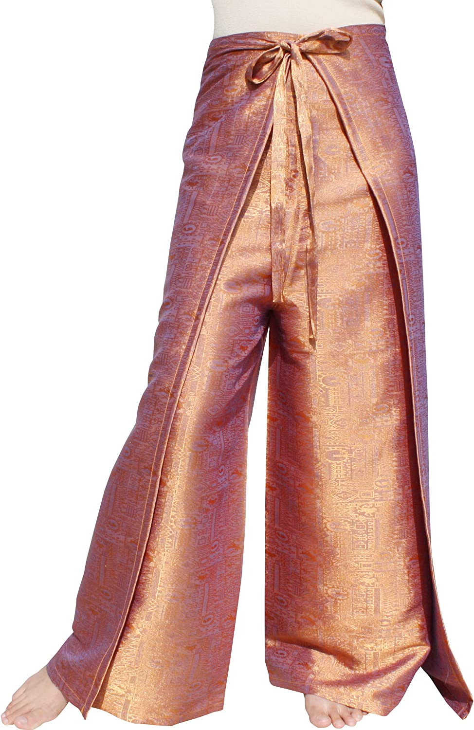RaanPahMuang Brand Geometric Thick Long-awaited Textured Wrap Drive In Be super welcome Silk P