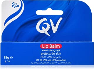 QV Lip Balm SPF30 Soothing Lip Balm to Mosturise and Help Protect Dry Lips From Sun Damage - 15 g