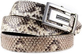 Implora Genuine Python Snakeskin Belt