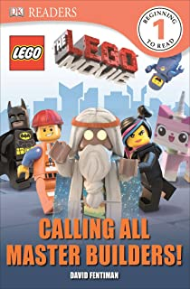 DK Readers L1: The LEGO Movie: Calling All Master Builders! (DK Readers Level 1)