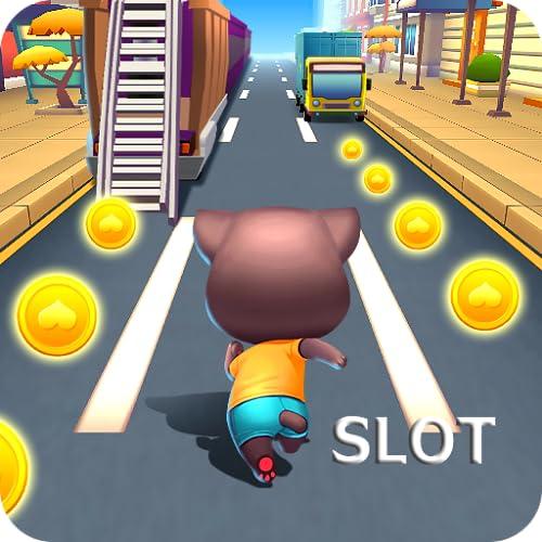Talking Cat Racing Slot - Mega Party Casino Jackpot Slot Adventure 12...
