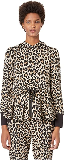 Dashing Beauty Leopard Terry Hoodie