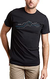 Mountain Warehouse Theme Graph Mens T-Shirt - Lightweight Tee, Breathable T-Shirt, Quality Print - Best for Outdoor, Sport...