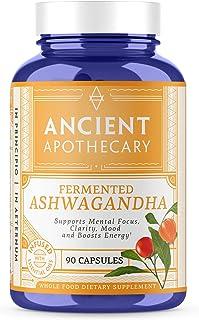 Ancient Apothecary, Fermented Ashwagandha, 90 Capsules