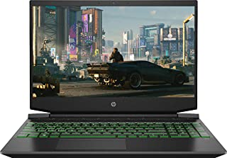 "2021 HP Pavilion 15.6"" FHD Gaming Laptop, AMD Ryzen 5 4600H Processor, 8GB Memory, 256GB SSD, NVIDIA GeForce GTX 1650, Bac..."
